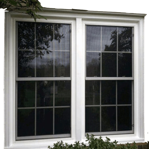 Gaoming Australia standard hinged windows double glass black vinyl windows casement window for decoration