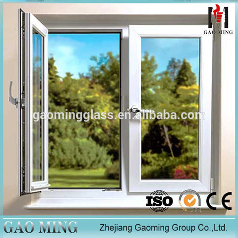 Gaoming blind inside double glass window, casement,sliding, arched, fixed aluminium window manufacturer on China WDMA