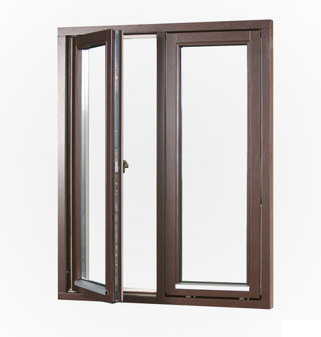 Gaoming casement window automatic opener, 4 panels casement windows, french window on China WDMA