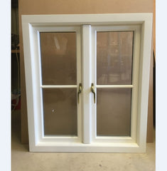 Gaoming german casement windows/aluminum casement window/opaque window electric prices on China WDMA