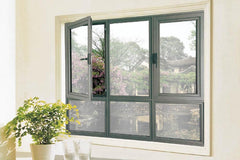 German Brand Grill Design Single Hung Single Pane Casement Window Horizontal Pivot Windows on China WDMA