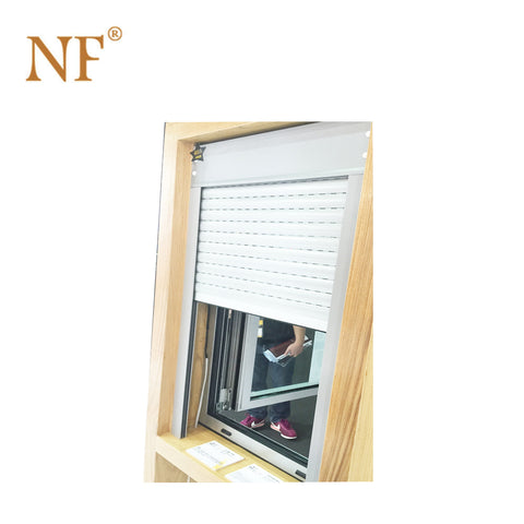 German brand motor electric motorized roller shutter blind jalousie window on China WDMA