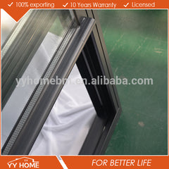 Gliding made in china door and windows double hung opaque glass windows on China WDMA