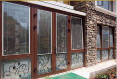 Good price double glazed windows with built in blinds uk UB6332 on China WDMA