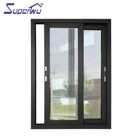 Good quality Sliding window house windows for sale price of aluminum sliding window on China WDMA