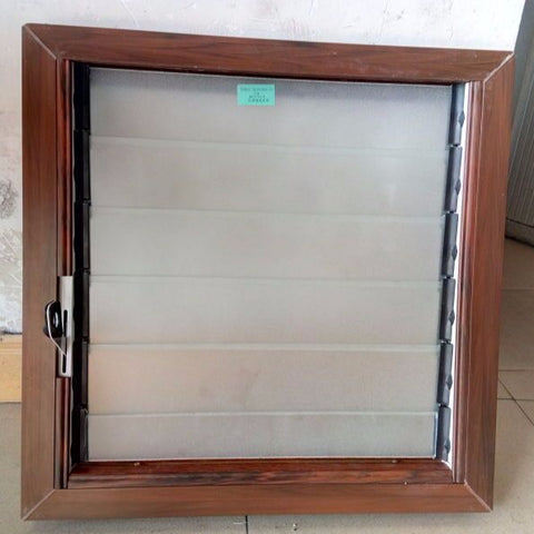 Good quality price of Upvc blinds glass louver windows shutter window for house and villa on China WDMA