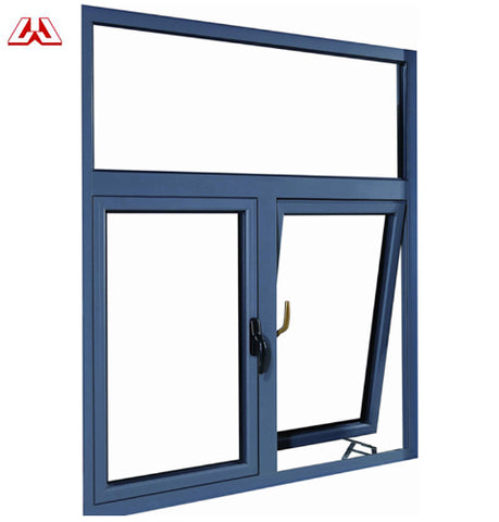 Great Features Office UPVC Framed Modern House French casement Lift Up casement Windows on China WDMA