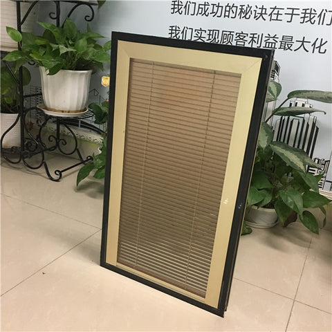 Guangdong easy install built-in louver windows between insulating glass blinds inside glass on China WDMA