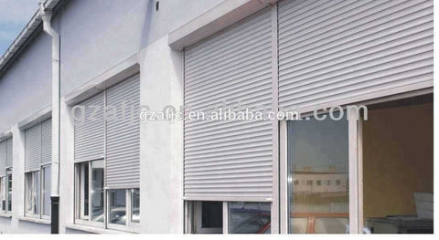 Guangzhou security rolling up windows,window shutter aluminum, window grill-iron design photos on China WDMA
