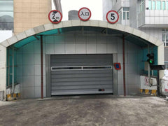 Aluminum Frame Entry Door Roll Up Industrial Door on China WDMA
