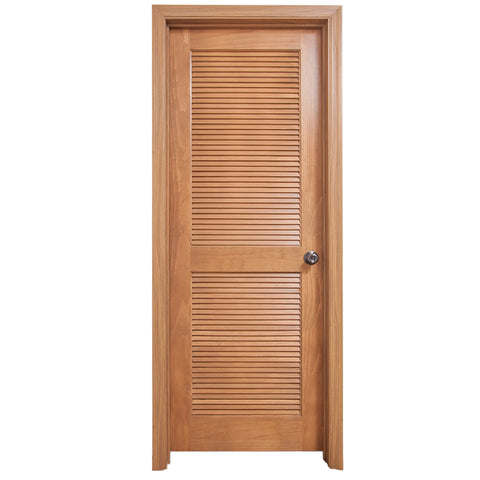 Prettywood Hawaii Hot Sale Hotel Solid Wooden Shutter Blind Louvre Door on China WDMA