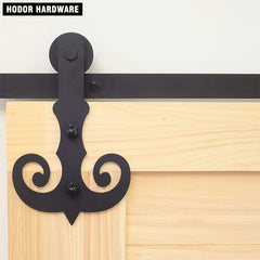 HD-FT41 Mustache Sliding Door Materials Hardware Hodor Made on China WDMA
