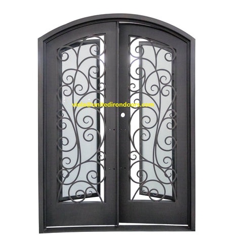 SZ-787 Customized Steel French Door on China WDMA