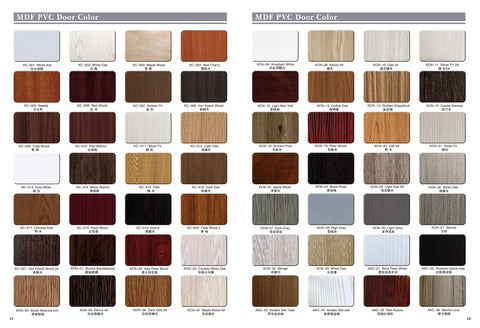 Interior doors for bedroom and bathroom with customized specification on China WDMA