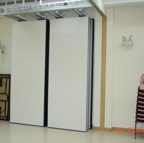 Good Quality Design Decorative Movable Partition Wall Sliding Doors for Art Gallery/Dance Studio on China WDMA