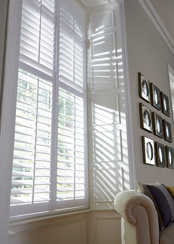 Beautiful Wood Shutters for French Door on China WDMA