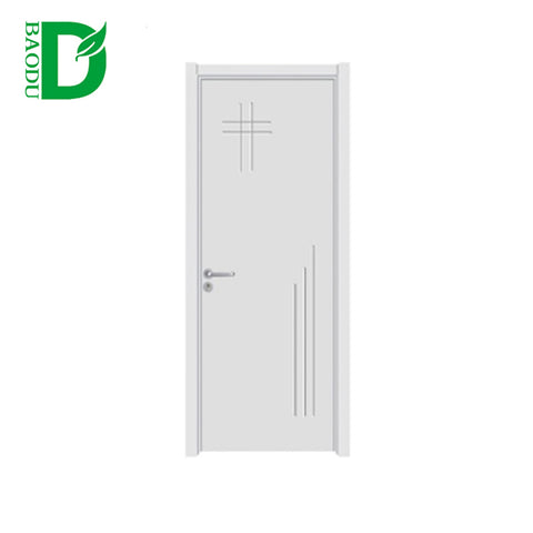 the Cheapest PVC Wooden Door Interior Door Bathroom Hotel doors on China WDMA