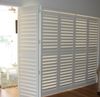 wall decorative accordion shutter windows bi fold plantation shutter doors on China WDMA