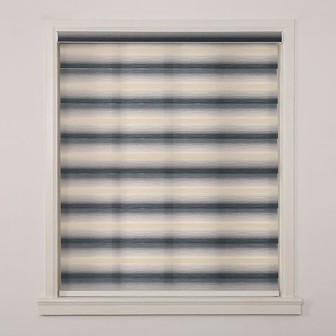 New light adjustment double layer zebra terrace blinds night and day blind for windows on China WDMA
