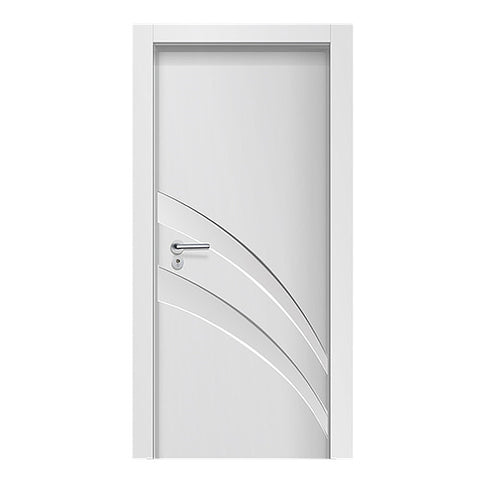 China Supplier Interior High Quality Waterproof Isreal Market WPC Door on China WDMA