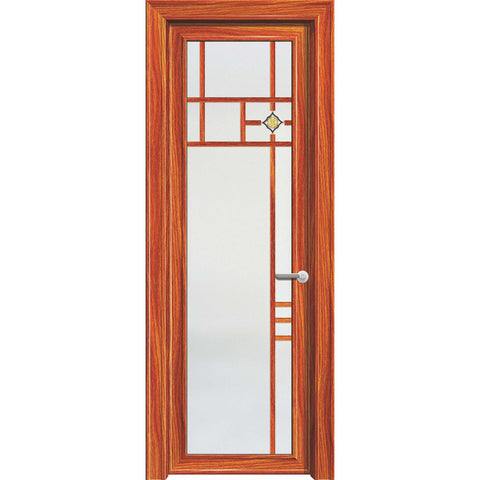 2019 new Trending product double glass aluminium soundproof french doors,casement door/hinged door for sale on China WDMA