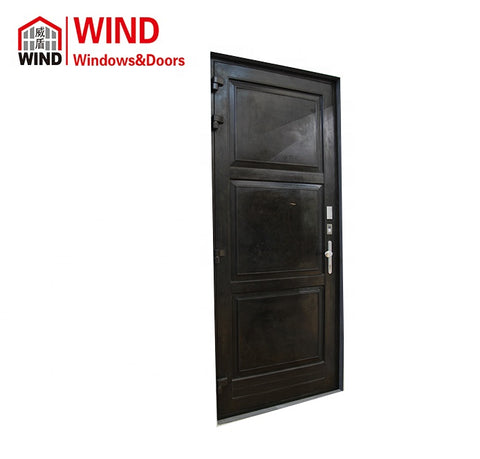 WIND latest French style grill design copper wood window and door for sale on China WDMA