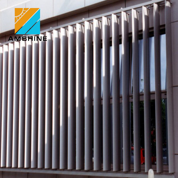 Modern new house desig aluminium outdoor glas louvres panel on China WDMA