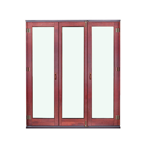 Best Soundproof American Style Garden Windows Anti-Theft House French Patio Doors on China WDMA