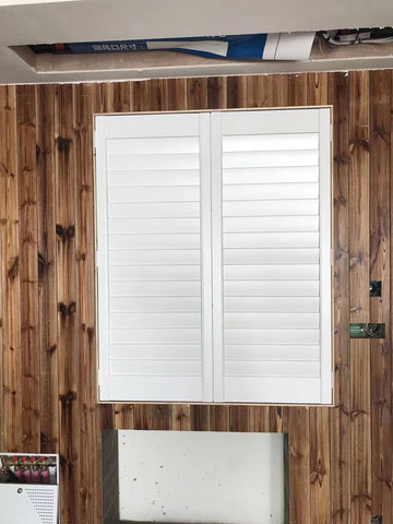 Sun Adjustable Privacy Wood Bifold Louver Shutter Doors on China WDMA