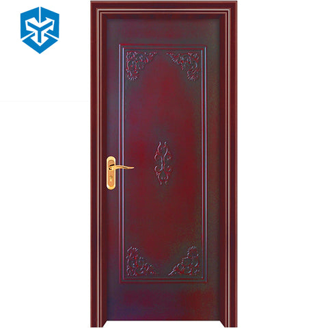 Cream oak sapele teak walnut white color exterior french bathroom doors wpc door on China WDMA