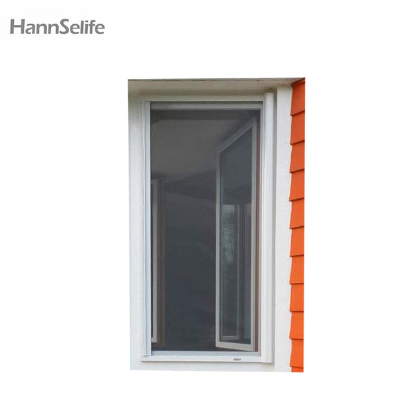 Hansi pet screen sliding window with mosquito rolling net on China WDMA