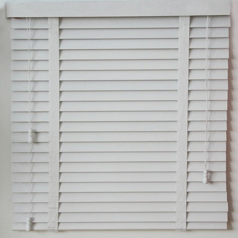 Haoyan Elegant Pvc Roll Up Window Basswood Faux Wooden Blind Wood Shutters on China WDMA