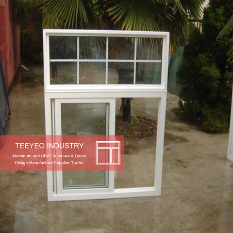 WDMA Best Selling 60x48 Windows - Happy New Year Sales Promotion 48x60 vinyl frame colored glass sliding window