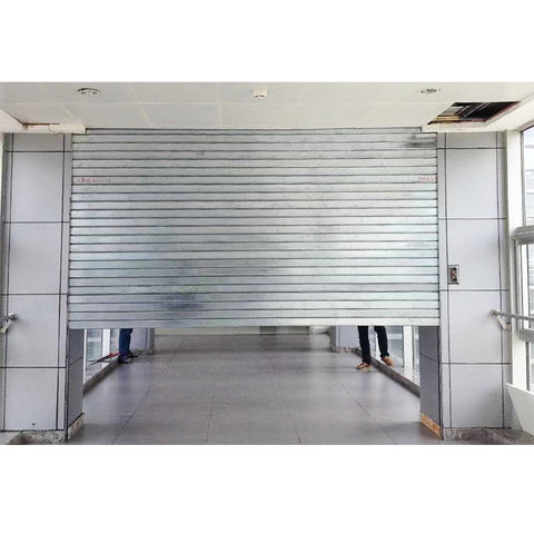 Factory rapid roll up pvc high speed door fast plastic roll up shutter door on China WDMA