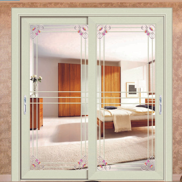 Custom 40 system sliding glass door aluminum sliding door for home on China WDMA