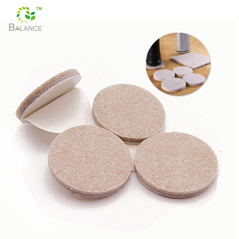 Heavy duty self adhesive felt pads furniture sliders round sticky felt pad on China WDMA