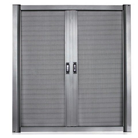 Hennesa Easy Install Customized Retractable Insect Screen /Aluminum Door Screen