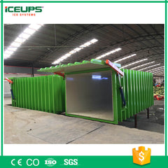Herbs Rapid Vacuum Coolers With Upward Lifting / Horizontal Sliding / Manual Operating Door on China WDMA