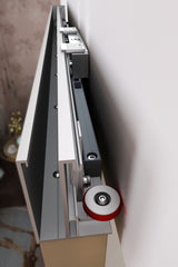 Hidden Track Sliding Barn Door Hardware For Wood Door on China WDMA