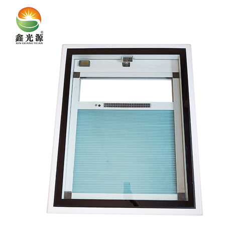 Hide motor frame toughened glass skylight with high quality basement window on China WDMA