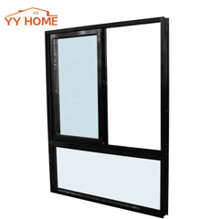 High Energy Rating Quality Certified aluminum interior used sliding window flyscreen for luxury house building construction