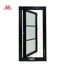 High Quality Aluminum Window Sales Broken Bridge Aluminum Horizontal Pivoting Casement Windows on China WDMA