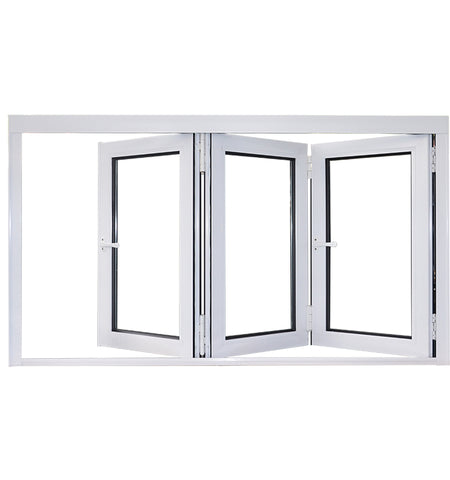 High Quality Australian Standard Aluminium Bi Folding Windows with Internal Blinds on China WDMA