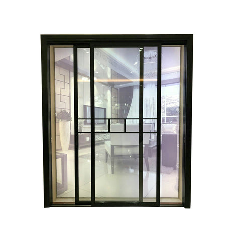 High Quality Commercial Aluminium Window Flexible Customized Extra Wide Doors French Glass School Aluminum Door Sliding Door on China WDMA