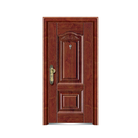 High Quality French Steel Door Modern Entry Security Door Exterior Steel Door on China WDMA
