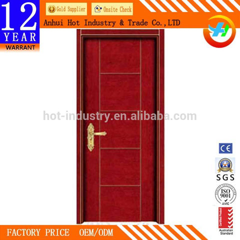 High Quality Solid Wooden Door Factory Direct Best PriceComposite Front Doors Soundproof External French Doors UPVC For Bedroom on China WDMA