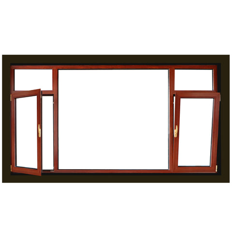 High energy efficient aluminum casement window tilt and turn windows