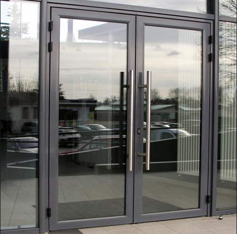 High quality china factory Glazed Front Double glass Luxury Classic aluminum frame casement Door on China WDMA