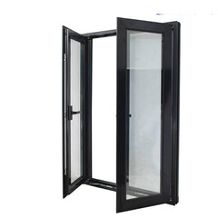 High quality china factory latest design Aluminum profile double glass Terrace Casement Windows price on China WDMA