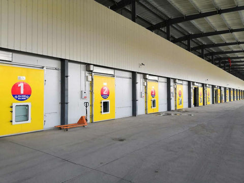 High quality glass door cold room,automatic sliding door for cold room on China WDMA